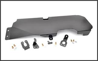 Rough Country - Rough Country Jeep Wrangler JK 07-17 *2 DOOR* Gas Tank Skid Plate - 794
