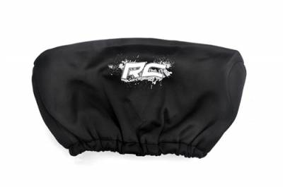 Rough Country - RCX Neoprene Winch Cover - Black w/ White Logo -RS106