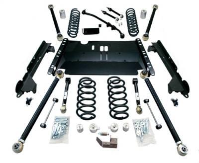"""TeraFlex - TeraFlex TJ 3"""" Enduro LCG Long Flexarm Suspension System - No Shocks"""