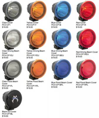 """VISION X Lighting - Vision X 4.7"""" CANNON LIGHT POLYCARBONATE COVER -PCV-CP1"""