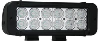 "VISION X Lighting - Vision X 8"" XMITTER PRIME LED BAR BLACK 12 3-WATT LED'S 10 OR 40 DEGREE   -XIL-P1210"