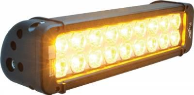 "VISION X Lighting - Vision X 11"" XMITTER PRIME AMBER LED BAR BLACK 18 5W LED'S 10 NARROW   -XIL-P1810A"