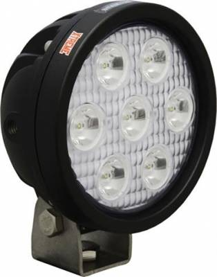 "VISION X Lighting - Vision X 4"" ROUND UTILITY MARKET XTREME BLACK 7 5W LED'S 10, 40 OR 60 DEGREE   -XIL-UMX40"