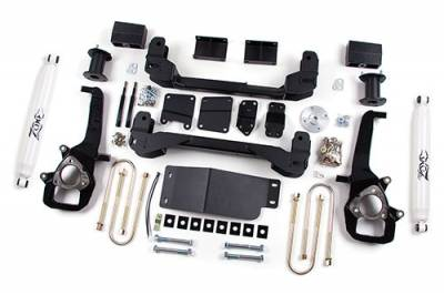 "Zone Offroad - Zone Offroad 4"" IFS Suspension Lift Kit System for 06-08 Dodge Ram 1500 Pickup 4WD - D3"