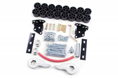 """Zone Offroad - Zone Offroad 4"""" Combo Lift kit for 97-03 Ford F150 4WD - F1400"""