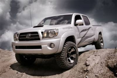 """Zone Offroad - Zone Offroad 2 1/2"""" Toyota Tacoma 4WD 05-16 Leveling Kit - T1251"""