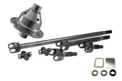 Yukon Gear & Axle - Yukon 30 spline UPGRADE For Jeep Dana 30 - 4340 Chrome-Moly axle & Grizzly Locker kit with SPICER JOINTS for Jeep TJ, XJ, YJ & ZJ.