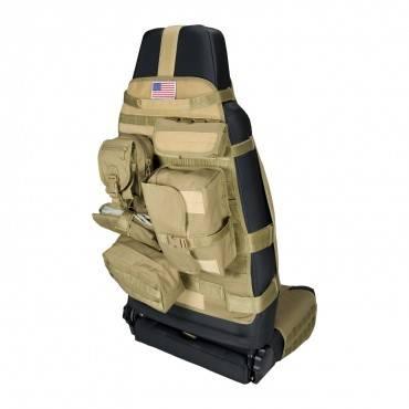 Rugged Ridge - Cargo Seat Cover, Front, Tan, Jeep CJ 76-86 Wrangler YJ 87-95, TJ 97-06, JK 07-15, Sold Individually COV-B  -13236.04