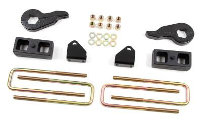 """Zone Offroad - Zone Offroad 2"""" Lift Kit for 01-10 Chevy / GMC 2500 & 3500 - C1213"""