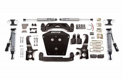 """BDS Suspension - BDS 4.5"""" Performance Coilover System for 07-15 Toyota Tundra Trucks - 814F"""