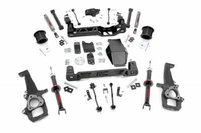 "Rough Country - Rough Country 2009-2011 Dodge Ram 1500 4WD 6"" Suspension Lift Kit *Choose Strut Options*  -329S-329.23"