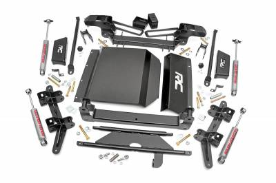 """Rough Country - Rough Country 1988-1999 Chevy / GMC 1500 Pickup / SUV  4"""" Suspension Lift Kit *Choose Shocks* -274.20-274P"""