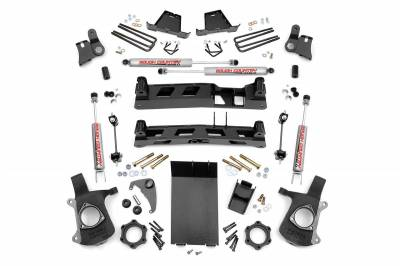 Rough Country - Rough Country 4IN GM NTD SUSPENSION LIFT KIT (99-06 1500 PU)- 25820
