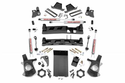 Rough Country - Rough Country 6IN GM NTD SUSPENSION LIFT KIT (99-06 1500 PU 4WD) - 27220A