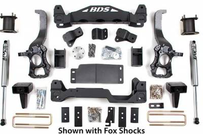 """BDS Suspension - BDS Suspension 6"""" Suspension Lift Kit System for 2014 Ford F150 2WD pickup trucks  -1505H"""