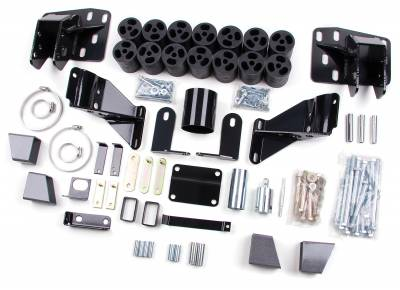 """Zone Offroad - Zone Offroad 3"""" Body Lift 06-08 Dodge 1/2 Ton Pickup 4WD - D9345"""