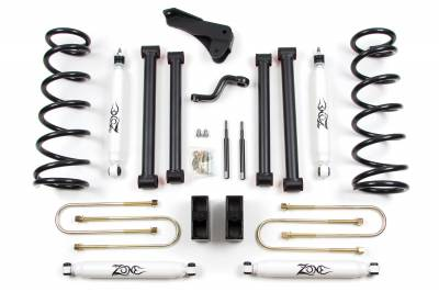 "Zone Offroad - Zone Offroad 5"" Suspension Lift Kit System 06-07 Dodge Ram 1500 Pickup Mega Cab - D5"