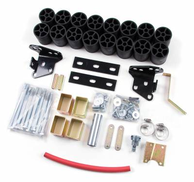 """Zone Offroad - Zone Offroad 3"""" Body Lift Kit for 1997-03 Ford F150 2WD/4WD - F9385"""