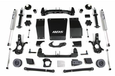 "BDS Suspension - BDS Suspension 4"" Lift Kit for 15-19 Chevrolet/GMC 4WD Suburban, Tahoe, Yukon, and Yukon XL 1500 1/2 ton SUVs - 733H"
