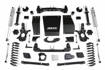 "BDS Suspension - BDS Suspension 6"" Lift Kit for 15-19 Chevrolet/GMC 4WD Suburban, Tahoe, Yukon, and Yukon XL 1500 1/2 ton SUVs - 731H"
