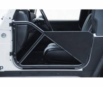 Smittybilt - SRC Tubular Doors Rear 97-06 Wrangler TL/LJ Black Textured SmittyBilt