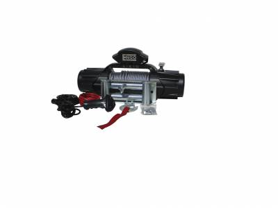 "Engo USA - ENGO XR10 10,000 lb Winch with Cable 3/8 x 85"" & Roller Fairlead  - 98-10000"