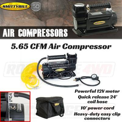 Smittybilt - Air Compressor High Performance 5.65 Cfm/160 Lpm Smittybilt