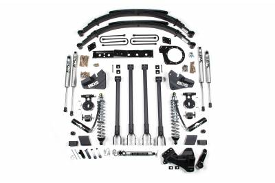 """BDS Suspension - BDS Suspension 6"""" 4-Link Arm Coil-Over Suspension System 