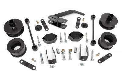 Rough Country - Rough Country 2.5IN JEEP SERIES II SUSPENSION LIFT KIT (07-18 JK WRANGLER) *Select Shock Option* - 635-65730