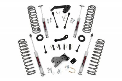 """Rough Country - Rough Country 2007 - 2018 Jeep JK Wrangler 4"""" Suspension *Select Model* - 682S-681S"""