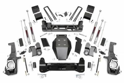 Rough Country - Rough Country 7.5IN GM NTD SUSPENSION LIFT KIT (11-17 2500HD/3500HD) - 253X