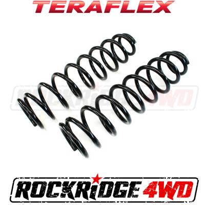 """TeraFlex - TeraFlex Jeep Wrangler JK 4 Door 3"""" Front or 2 Door 4"""" Front Spring (Pair)- 1853202"""