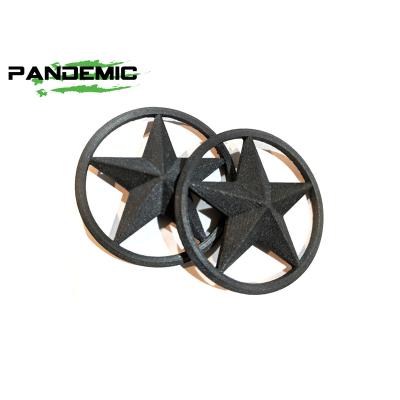 Pandemic - Pandemic Jeep JK Tailgate Plugs - Stars - Pair - PAN-P-3