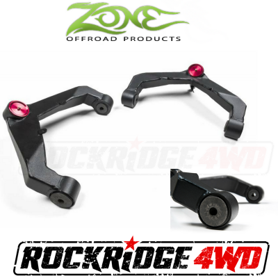 Zone Offroad - Zone Offroad Upper Control Arm Kit 01-10 GM 2500HD-3500HD / 2500 NON-HD 2WD / 4WD - C2300