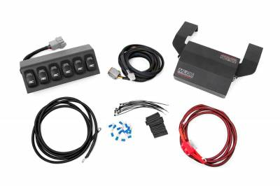 Rough Country - ROUGH COUNTRY MLC-6 MULTIPLE LIGHT CONTROLLER (97-06 WRANGLER TJ) - 70956