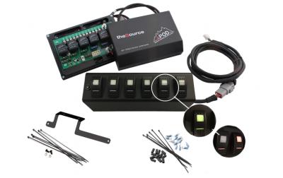 sPod - sPod 6 Switch Panel System for 2009-2017 Jeep Wrangler JK/JKU *Select Options* - 600-0915