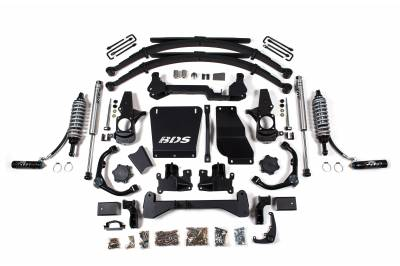 "BDS Suspension - BDS Suspension 7"" Coil-Over Lift Kit - 01-10 Chevy/GMC HD Truck & SUV 4WD - 738FDSC"