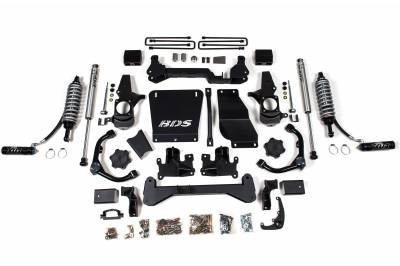 """BDS Suspension - BDS Suspension 4-1/2"""" Coil-Over Lift Kit - 01-10 Chevy/GMC HD Truck & SUV 4WD - 740FDSC"""