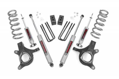 Rough Country - Rough Country 4.5IN GM SUSPENSION LIFT KIT (99-06 1500 PU 2WD) - 239N2