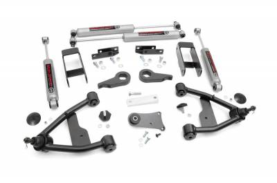 """Rough Country - Rough Country 2.5"""" Suspension Lift Kit for Chevy/GMC 1982-2004 S-10/15 Pickup/Blazer/Jimmy - 24230"""