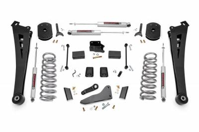 Rough Country - Rough Country 5IN DODGE SUSPENSION LIFT KIT (14-18 RAM 2500 4WD)  **CHOOSE GAS OR DIESEL** - 367.20-373.20