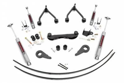 """Rough Country - Rough Country 1988-1999 Chevy / GMC 1500 Pickup / SUV 2-3"""" Suspension Lift Kit - 17030"""