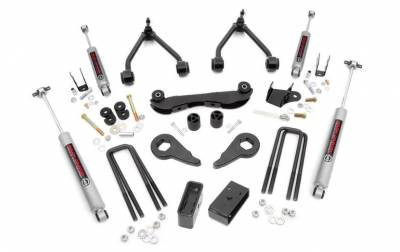 """Rough Country - Rough Country Chevy 1988-1999 Chevy/GMC 1500 Pickup / SUV 2-3"""" Suspension Lift Kit - 16530"""