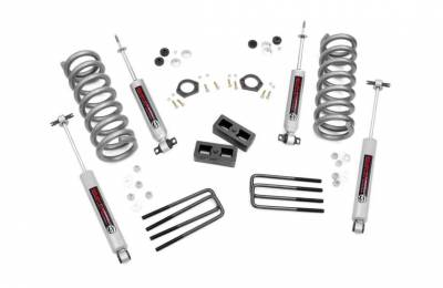 Rough Country - Rough Country 2IN GM SUSPENSION LIFT KIT - 230N3