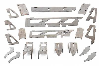 Rough Country - ROUGH COUNTRY JK DANA 30 FRONT AXLE TRUSS & GUSSET KIT - 10565