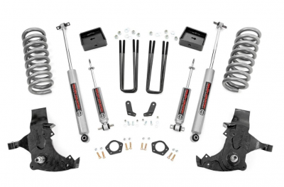 Rough Country - ROUGH COUNTRY 6IN GM SUSPENSION LIFT KIT (88-98 1500 PU 2WD) - 27130