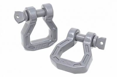 Rough Country - Rough Country FORGED D-RING SHACKLE SET *Select Color*