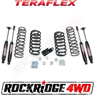 "TeraFlex - TeraFlex TJ 2"" Lift Kit w/ All (4) 2""-3"" Shocks (Ships in 2 Boxes)  -1241200"