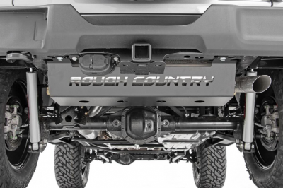 Rough Country - Rough Country JEEP MUFFLER SKID PLATE (18-19 WRANGLER JL) - 10599