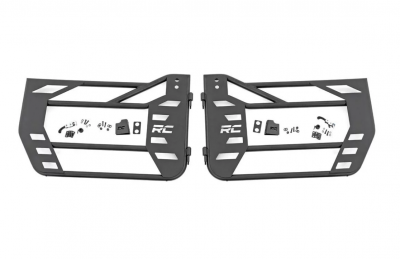 Rough Country - Rough Country JEEP STEEL TUBE DOORS (07-18 WRANGLER JK) - 10586
